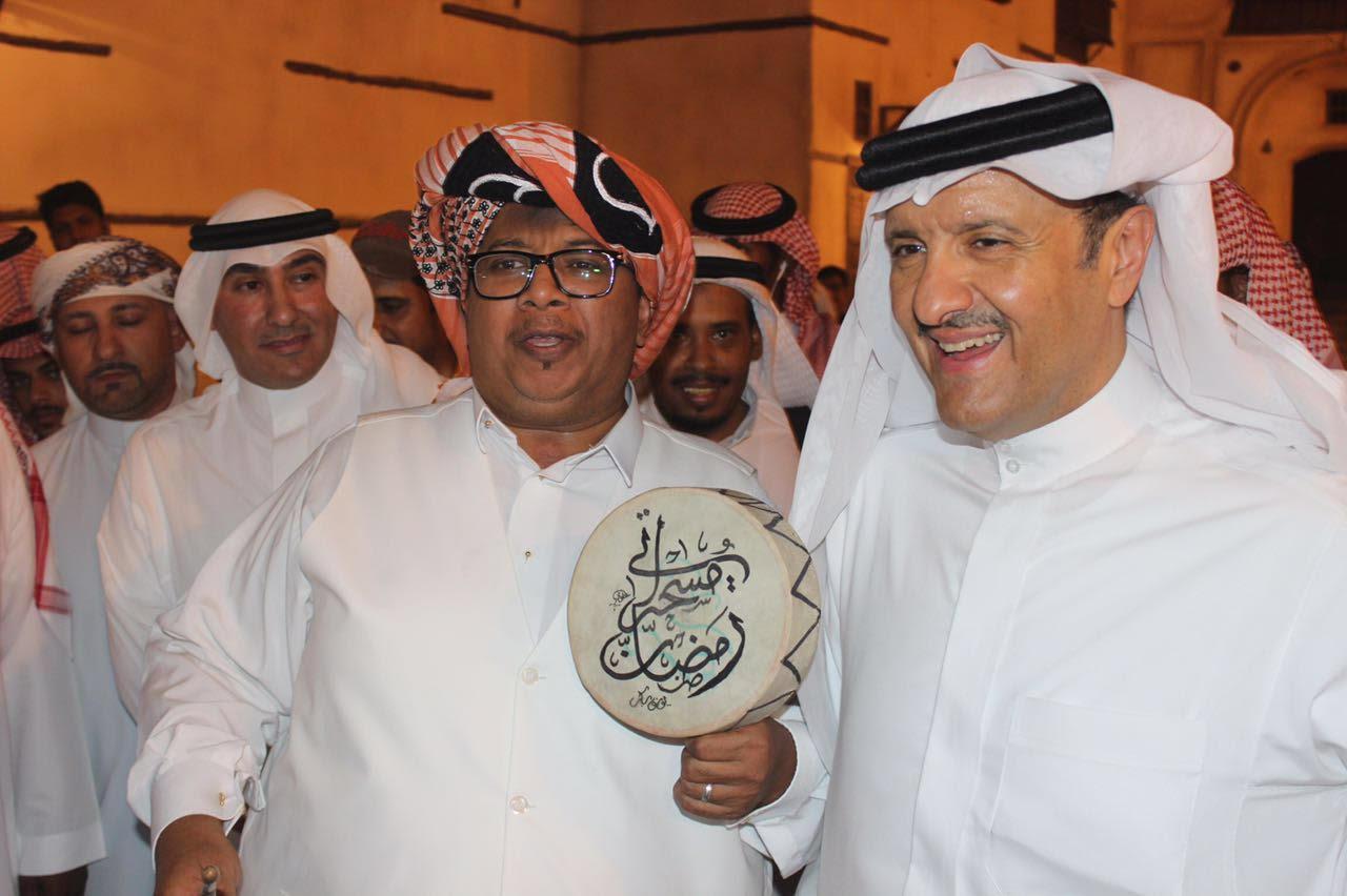 الأمير سلطان بن سلمان يزور مهرجان رمضاننا كدا  (2)