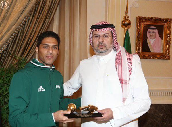 الأمير عبدالله بن مساعد يستقبل المرداسي (1)
