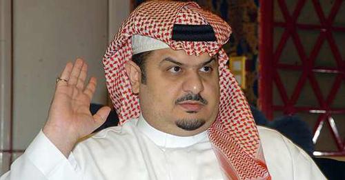 الأمير عبد الرحمن بن مساعد رئيس مجلس إدارة نادي الهلال