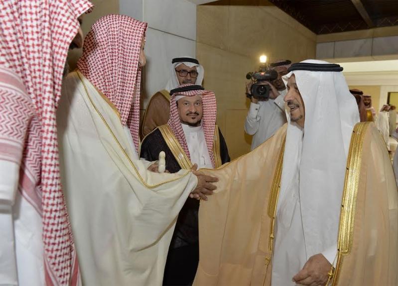 الأمير فيصل بن بندر يستقبل مفتى عام المملكة 3