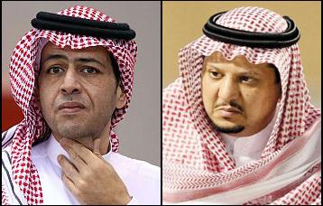 الأمير فيصل بن تركي , محمد الحميداني
