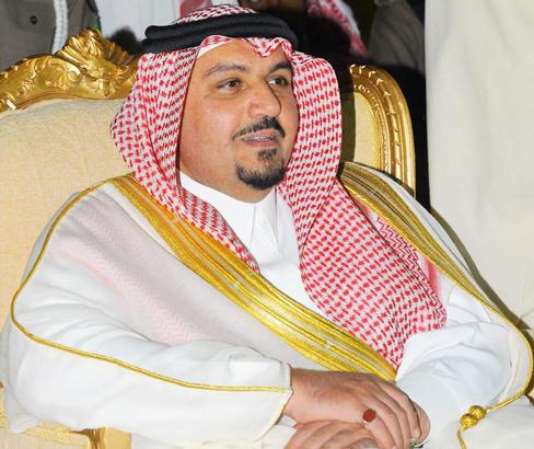 الأمير فيصل بن مشعل بن سعود بن عبدالعزيز نائب أمير منطقة القصي