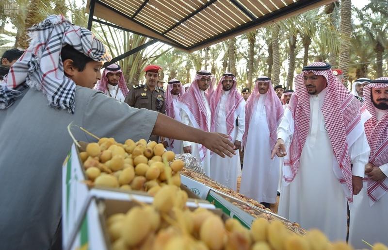 """الأمير فيصل بن مشعل: مهرجان """"تمور بريدة"""" يحقق تطلعات رؤية المملكة 2030 1"""