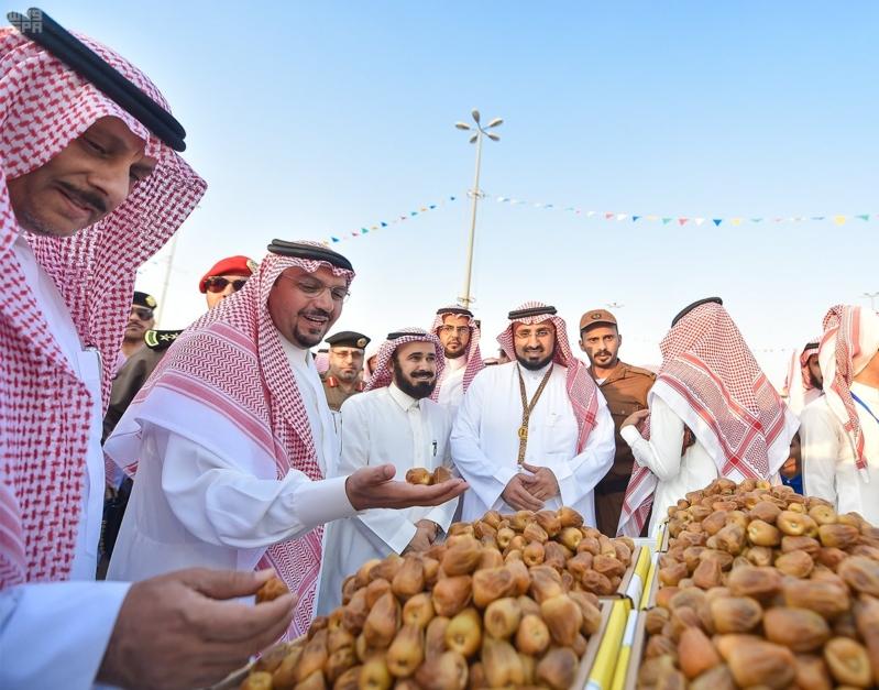 """الأمير فيصل بن مشعل: مهرجان """"تمور بريدة"""" يحقق تطلعات رؤية المملكة 2030 3"""
