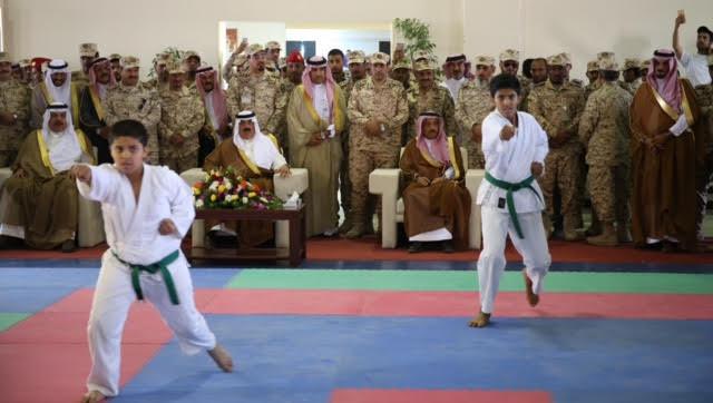 الأمير متعب بن عبدالله يدشن مجمع المنشآت الرياضية بخشم العان1