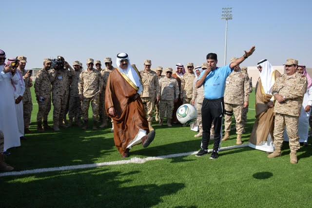 الأمير متعب بن عبدالله يدشن مجمع المنشآت الرياضية بخشم العان5