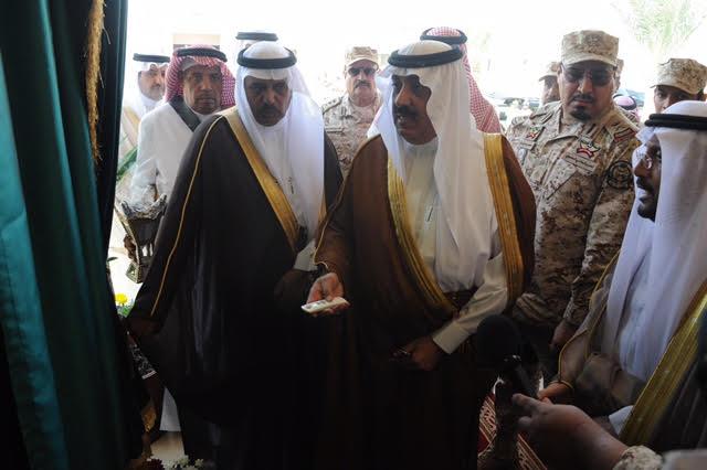الأمير متعب بن عبدالله يدشن مجمع المنشآت الرياضية بخشم العان8