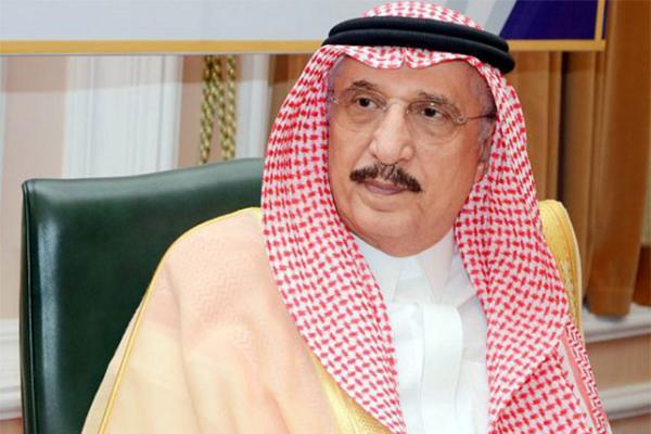 أمير جازان يعزي في وفاة محمد البار وهزاع أبو طالب