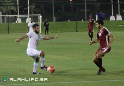 الأهلي يفوز على المنتخب العسكري القطري وديًا10