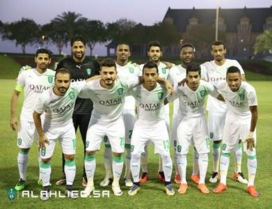 الأهلي يفوز على المنتخب العسكري القطري وديًا12