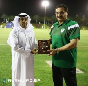 الأهلي يفوز على المنتخب العسكري القطري وديًا14