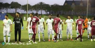 الأهلي يفوز على المنتخب العسكري القطري وديًا4