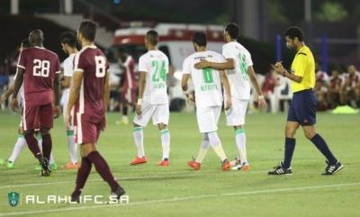 الأهلي يفوز على المنتخب العسكري القطري وديًا9