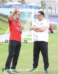 الأهلي يواصل تدريباته في الدوحة