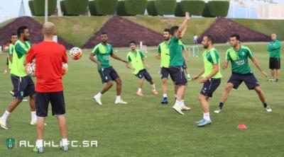 الأهلي يواصل تدريباته في الدوحة1