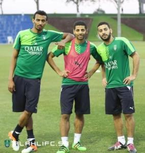 الأهلي يواصل تدريباته في الدوحة4