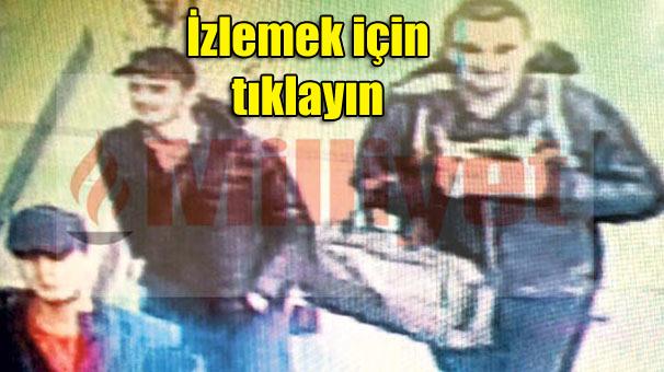 الإرهابيين الثلاثة في مطار أتاتورك