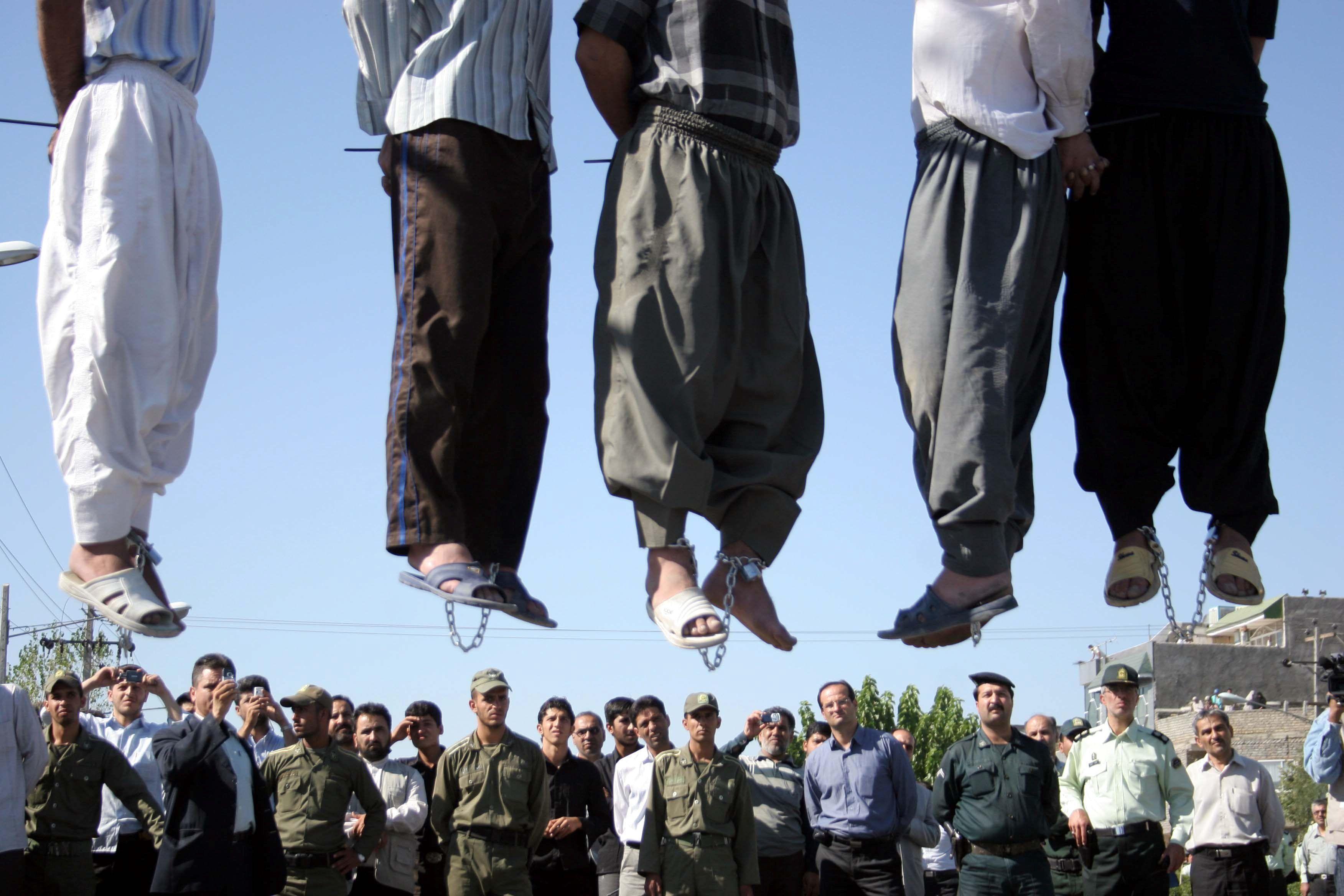 #ملالي_إيران يُعدمون 120 ألفاً منهم 4 آلاف دفعة واحدة.. هذا إنجازهم!