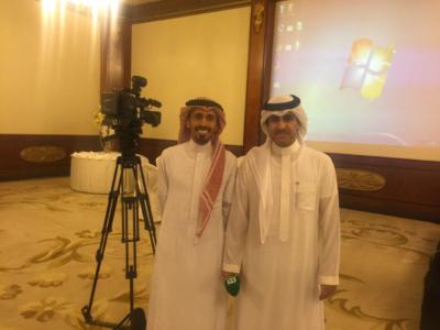 الإعلاميون السعوديون المشاركون في لقاء الأحواز بالكويت2