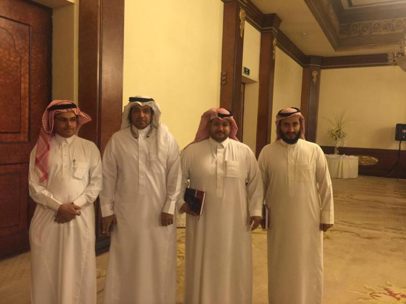 الإعلاميون السعوديون المشاركون في لقاء الأحواز بالكويت4