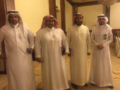 الإعلاميون السعوديون المشاركون في لقاء الأحواز بالكويت5