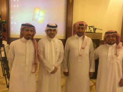 الإعلاميون السعوديون المشاركون في لقاء الأحواز بالكويت6