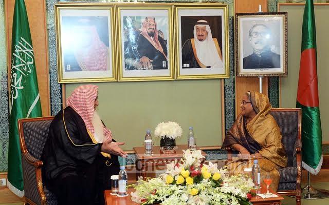 الإعلام البنجلاديشي يرصد بالصور لقاءات الشيخة حسينة في السعودية (1) 