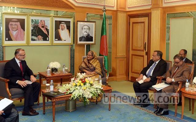 الإعلام البنجلاديشي يرصد بالصور لقاءات الشيخة حسينة في السعودية (175370277) 
