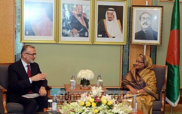 الإعلام البنجلاديشي يرصد بالصور لقاءات الشيخة حسينة في السعودية (175370278) 
