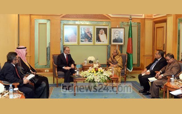 الإعلام البنجلاديشي يرصد بالصور لقاءات الشيخة حسينة في السعودية (175370279) 
