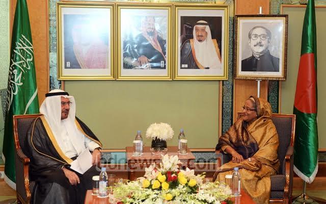 الإعلام البنجلاديشي يرصد بالصور لقاءات الشيخة حسينة في السعودية (175370280) 