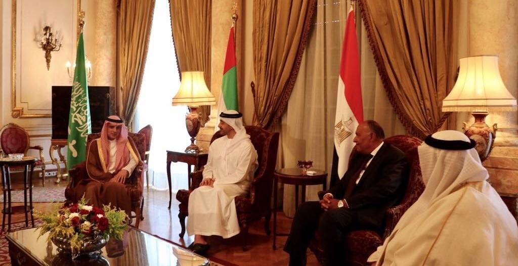 بيان مرتقب لوزراء خارجية الدول الداعية لمكافحة الإرهاب ردًا على قطر