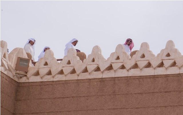 شاهد بالصور.. الأجيال الملكية الخليجية تلتقي في قصر العوجا - المواطن