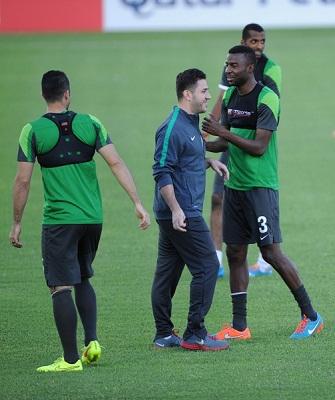 الأخضر يتابع تدريباته استعداداً لخوض منافسات البطولة الآسيوية - المواطن