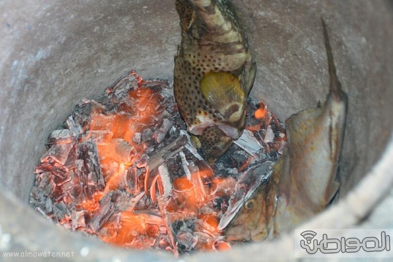 الاطعمة التراثية بايدي نسائية بعسير (16)