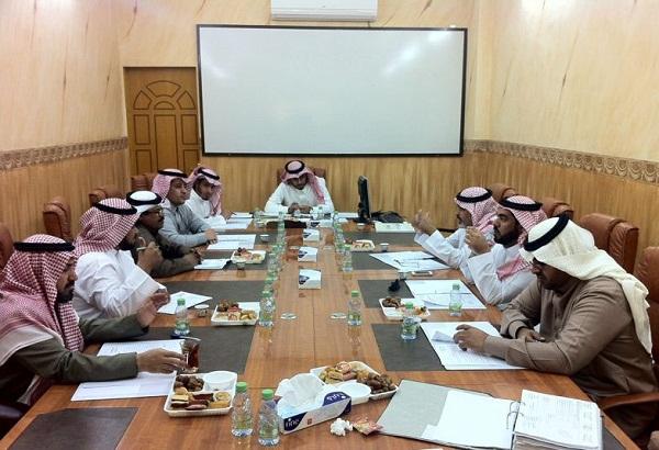 الاعضاء خلال الجلسة