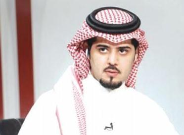 الاعلامي في قناة دبي الرياضية مشعل القحطاني
