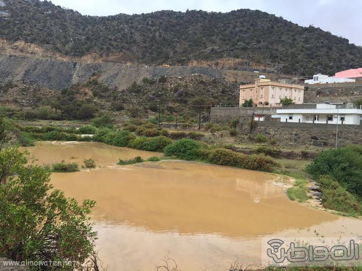 الامطار الغزيرة التي شهدتها قرى شمال عسير3