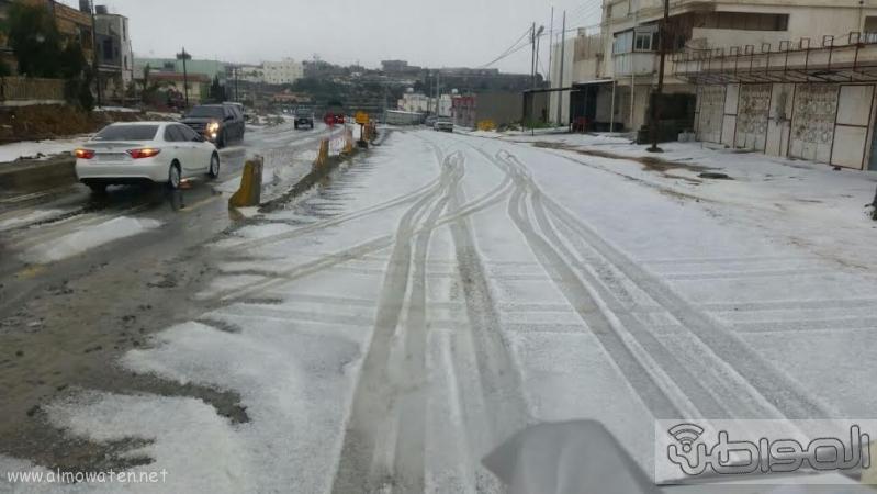 الامطار الغزيرة التي شهدتها قرى شمال عسير5