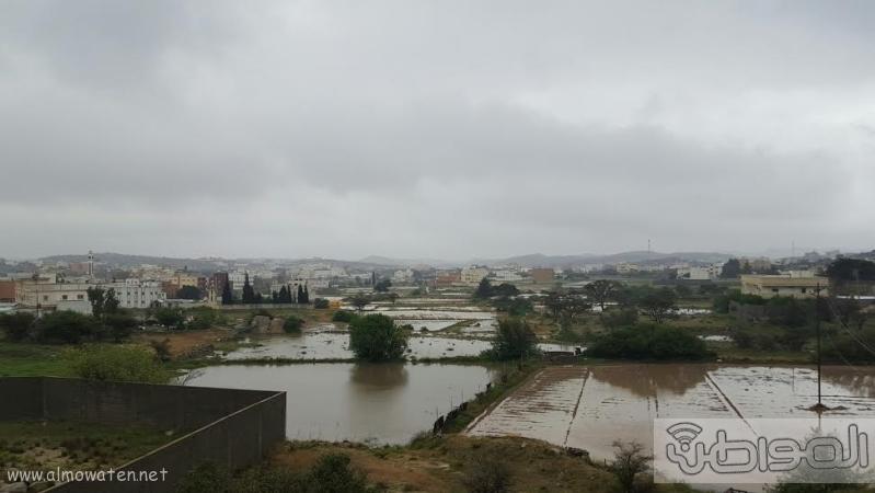 الامطار الغزيرة التي شهدتها قرى شمال عسير7