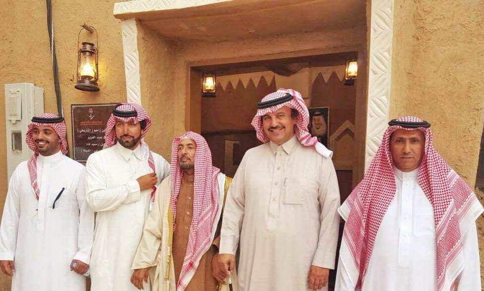 الاميران سعود وبدر يعودان 250 عاماً في قرية القصب (1)