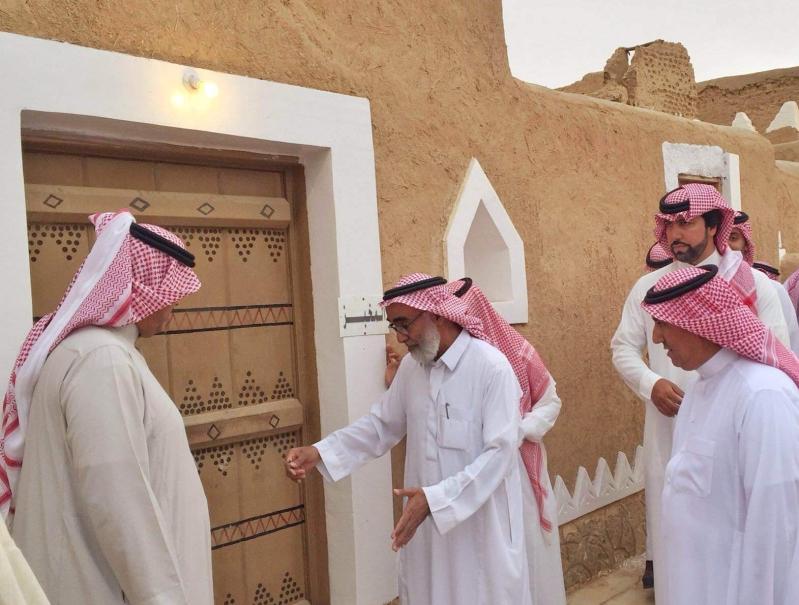الاميران سعود وبدر يعودان 250 عاماً في قرية القصب (2)