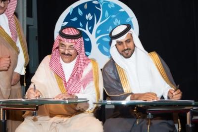 الامير احمد بن عبدالعزيز يدشن فيلم آل زهايمر