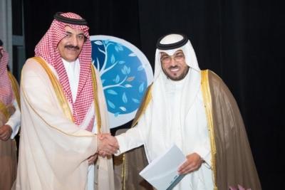 الامير احمد بن عبدالعزيز يدشن فيلم آل زهايمر2