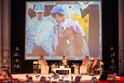 الامير احمد بن عبدالعزيز يدشن فيلم آل زهايمر6