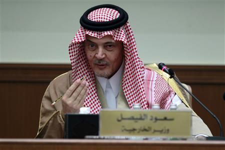 سعود الفيصل وزير الخارجية