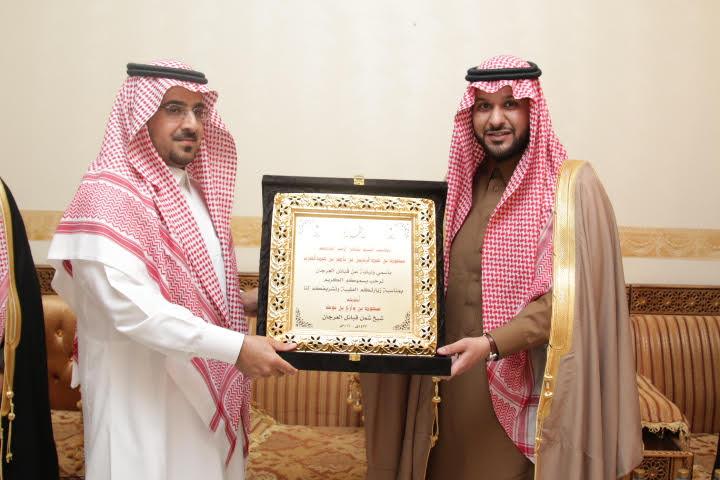 الامير سعود بن عبدالرحمن بضيافة ابن نومة (3)