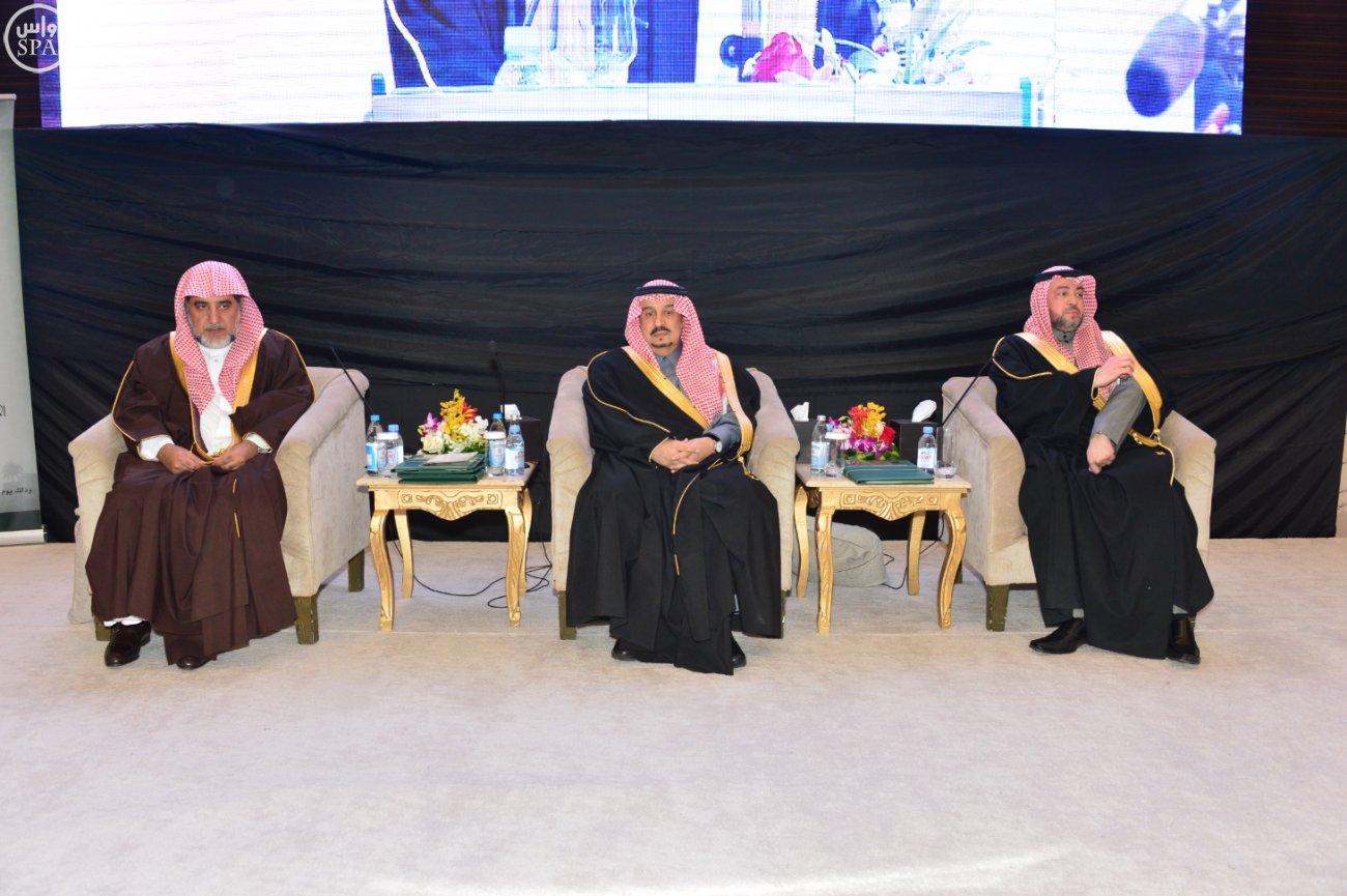 الامير فيصل بن بندر بن عبدالعزيز امير منطقة الرياض يرعى ملتقي الانتماء (4)