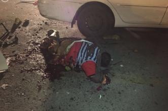 صور الإرهابي الهالك في التفجير الإنتحاري داخل مواقف مستشفى فقيه - المواطن
