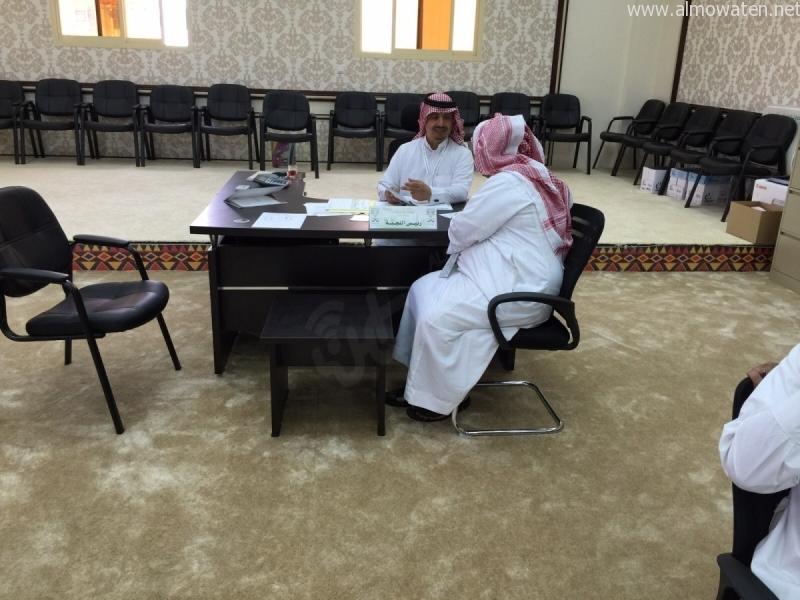 بالصور.. انطلاق مرحلة قيد الناخبين للانتخابات #البلدية في #أبها